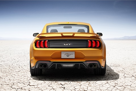 Jumpstart Automotive Media analysts say the Ford Mustang registered the most dealer website page views for the fourth consecutive year in 2017. Photo courtesy Ford Motor Co.