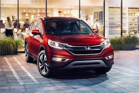 The 2017 Honda Cr V Is Top Er Among Two Row Suvs