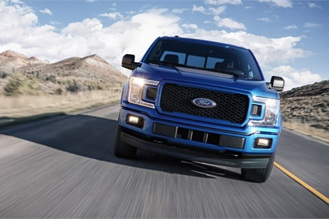 The CNCDA's year-end figures show the Ford F-Series outsold every electric vehicle combined in California last year. Photo courtesy Ford Motor Co.