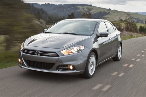 The discontinuation of the Dart sedan helped average prices for a new Dodge rise 8% in January, according to the latest figures from Kelley Blue Book. Photo courtesy Fiat Chrysler Automobiles