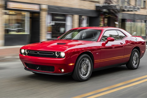 A 9% increase in transaction prices for the Dodge Challenger helped push Fiat Chrysler to a 3.3% year-over-year gain from March 2016. Photo courtesy Fiat Chrysler Automobiles