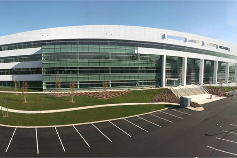 Dealertrack has unveiled its new, $50 million, 230,000-square-foot headquarters in North Hills, Long Island, N.Y. Photo courtesy Dealertrack