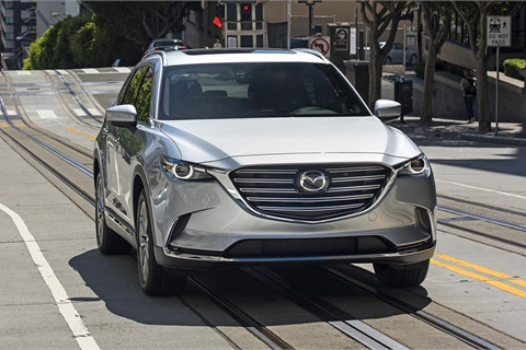 SUVs such as the Mazda CX-9 continue to draw interest from car shoppers, but many remain loyal to sedans, according to the latest report from Jumpstart Automotive Media. Photo courtesy Mazda USA