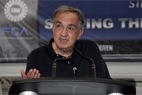 FCA and Ferarri CEO Sergio Marchionne has died following complications from surgery. He was 66. Photo courtesy Fiat Chrysler Automobiles