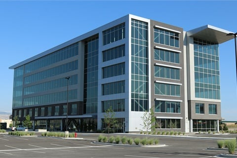 Dealertrack's new Draper, Utah, office space will house more than 500 employees in a 112,000-square-foot building. Photo courtesy Dealertrack