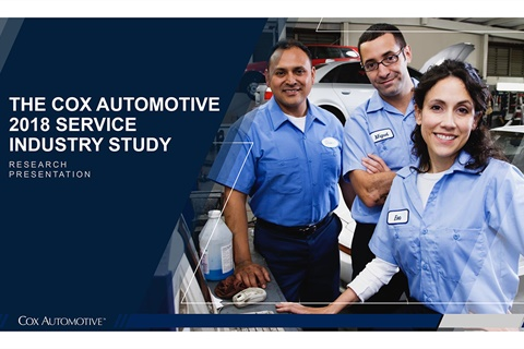 A Cox Automotive survey of dealership service customers and personnel found links from fixed ops performance to customer loyalty and dealership growth.