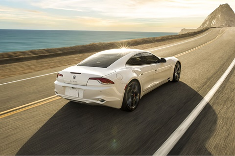 The Karma Revero was named Luxury Green Car of the Year by Green Car Journal. Photo courtesy Karma Automotive