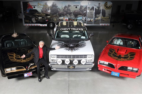 Two Trans Ams and a Silverado pickup that belonged to late actor Burt Reynolds will be sold by Barrett Jackson in a special auction at Las Vegas' Mandalay Bay on Sept. 29. Photo courtesy Barrett Jackson
