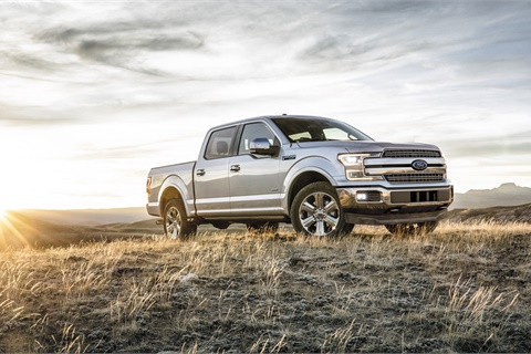 "The Ford F-150 enjoyed a 27% increase in shopper interest in October, helping to spark a run on pickup VDPs during ""Truck Month,"" according to the latest report from Jumpstart Automotive Media. Photo courtesy Ford Motor Co."