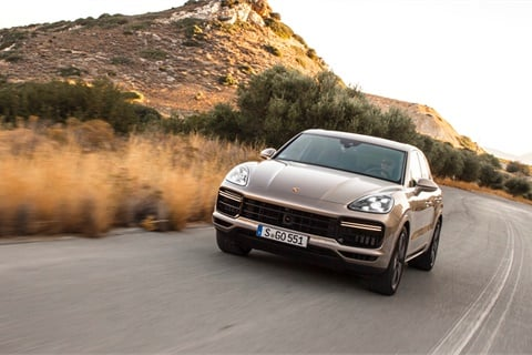 A comprehensive lineup that includes the Cayenne CUV helped propel Porsche to the top of the luxury heap in U.S. News and World Report's latest brand rankings. Photo courtesy Porsche AG