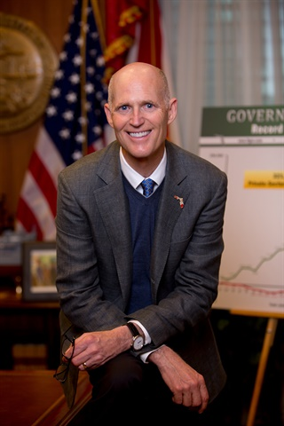 Pictured is Florida Gov. Rick Scott.