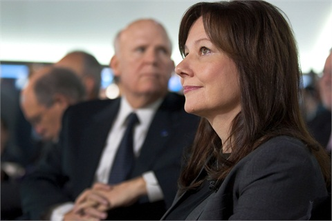 Mary Barra was elected by GM's board of directors to become the next CEO of the company.