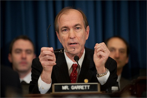 Rep. Scott Garrett's amendment to H.R. 4660 would prohibit funds made available by the act from being used for litigation that relies on the disparate impact theory.