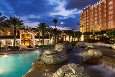 Industry Summit 2018 will be held Oct. 8–10 at the Caribe Royale Orlando in Orlando, Fla. Photo courtesy Caribe Royale