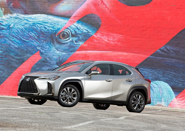 Photo of 2019 Lexus UX 200 courtesy of Toyota.