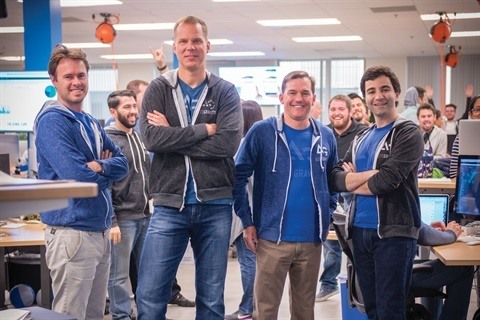 The executive team for AutoGravity includes CTO Martin Prescher, CEO Andreas Hinrichs, COO Nicholas Stellman, and COO Serge Vartanov.