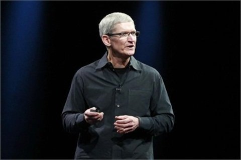 Apple CEO Tim Cook speaks at the annual Apple Worldwide Developers Conference.