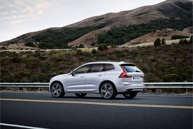 The 2017 Volvo XC60 SUV includes an updated City Safety AEB system. Photo courtesy of Volvo