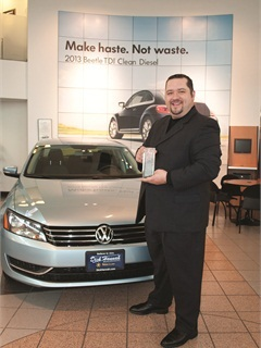 Pictured is Ralph Larson, the F&I director for Dick Hannah Dealerships, the 2012 F&I Dealer of the Year.
