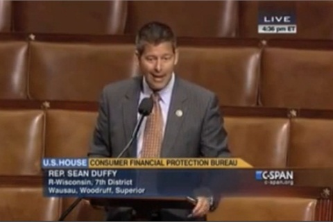 A bill proposed by U.S. Rep. Sean Duffy (R-Wis.) to bring transparency to the CFPB was passed this week by the House of Representatives.