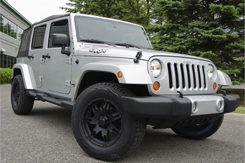The Jeep Wrangler Sahara is the reference vehicle for QNX Software's new infotainment system.