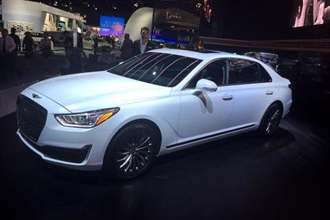 Photo of 2017 Genesis G90 by Paul Clinton.