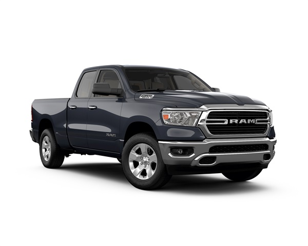 Shopper interest in the redesigned Ram 1500 climbed 172% in February, according to Jumpstart. (Photo courtesy of FCA USA)