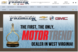Premier Chevrolet Buick GMC Named West Virginia's First Motor Trend Certified Dealer