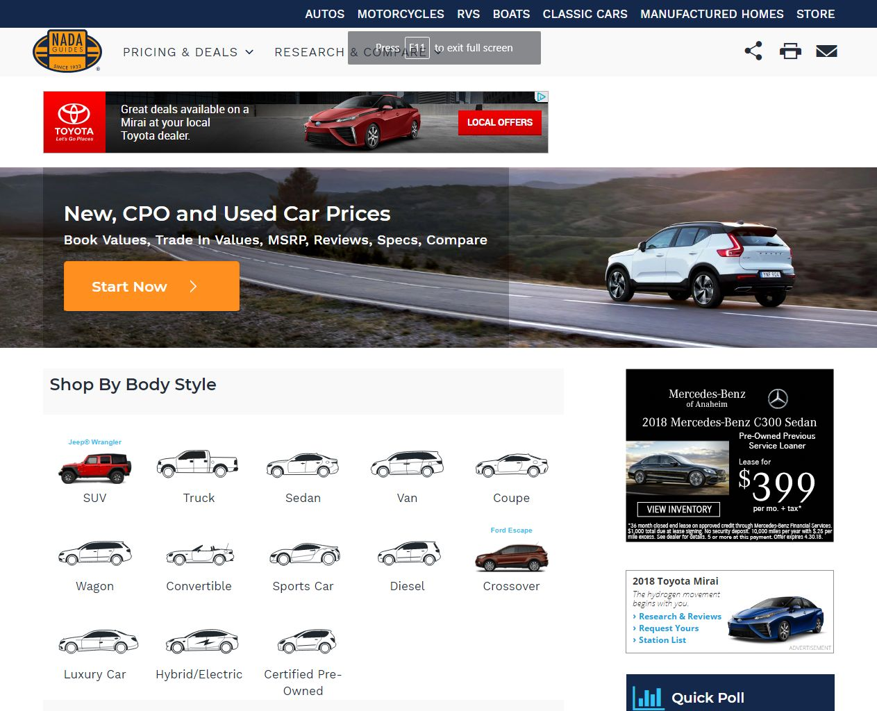 J.D. Power Integrates Car Ratings Into NADAguides.com