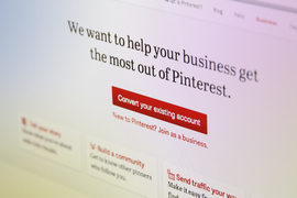 Pinterest Now Open for Business