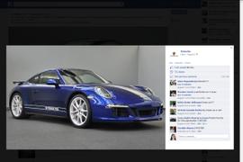 5M Facebook Fans Design New Porsche