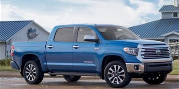 Photo of Toyota Tundra courtesy of Toyota