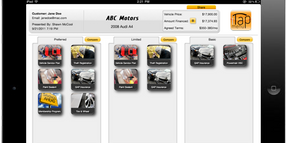 iTapMenu Launches F&I Menu App for Apple iPad