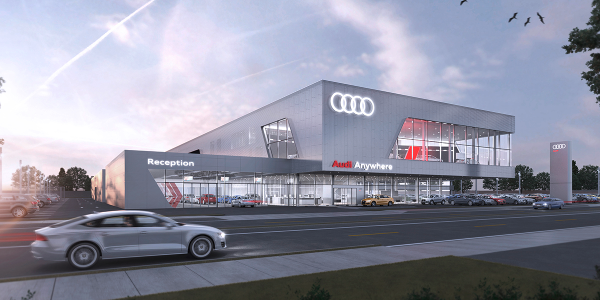 Audi is the latest factory to add Darwin Automotive to its dealer co-op list.