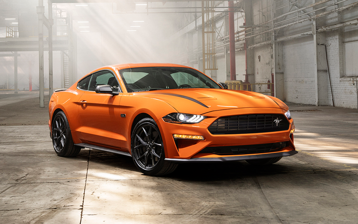 Average prices for the Ford Mustang increased by 7% on a year-over-year basis in June, propelled in part by the release of the GT edition, according to the latest figures from Kelley Blue Book.   - Photo courtesy Ford Motor Co.