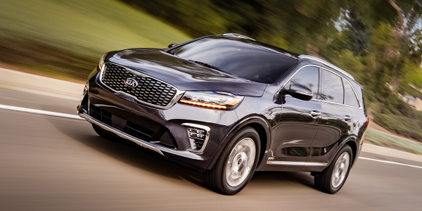 The 2019 Kia Sorento leads Kelley Blue Book's latest annual list of the top sales and lease...