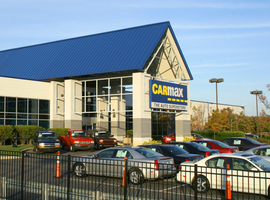 CarMax registered its highest all-time stock price in June, leading the nation's publicly traded dealer groups to a collective year-over-year improvement of 10.4%.