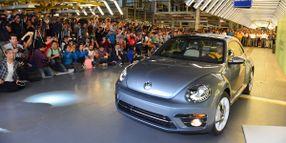 Last VW Beetle Rolls Off Production Line