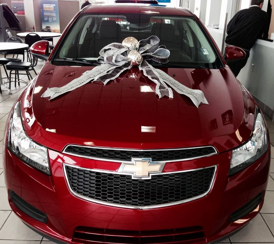 Chesrown Chevy Buick GMC has its gifts ready for car buyers this season.