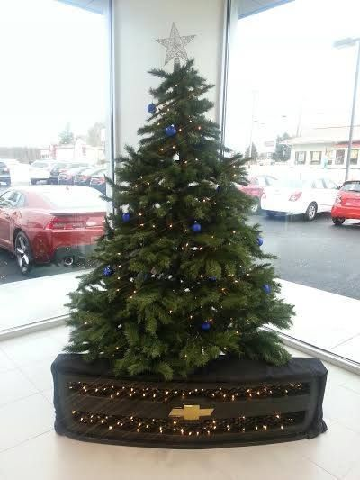 Central Maine Motors is feeling festive.