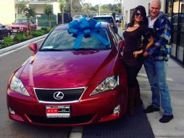 Happy customers at DCH Lexus of Santa Barbara.