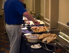 There were plenty of food options for attendees to enjoy throughout the day.