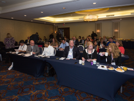 Attendees had plenty of times throughout the day where they could interact with each other and...