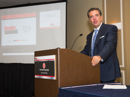"""Charlie Robinson of Resource Automotive - The Warranty Group kicked off the day with his """"Where..."""