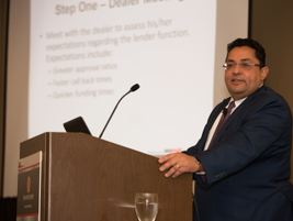 Demitrios Lahiri of American Financial & Automotive Services, Inc. gave his presentation...