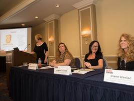 The female F&I manager focused event was moderated by Dina Wilson of Timbrook Automotive Group....
