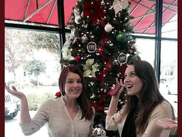 Customers having some Christmas fun at FIAT of Austin Texas.