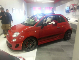 Look who rolled into Faulkner FIAT of Harrisburg.