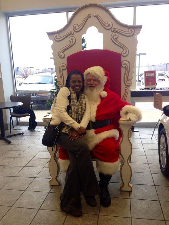Gossett Kia customers in Memphis tell Santa what they want for Christmas - a new Kia perhaps?