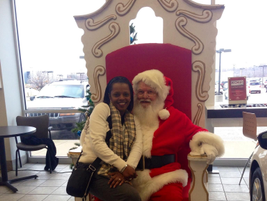 Gossett Kia customers in Memphis tell Santa what they want for Christmas - a new Kia perhaps?